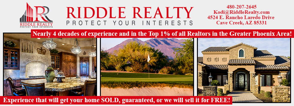 The Greater Phoenix Area Real Estate Video Blog with Kodi Riddle