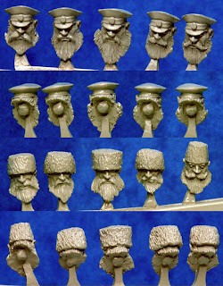 Hasslefree Miniatures Kolektiv Dwarves Heads