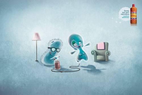 Impressive healthcare advertising creating impact