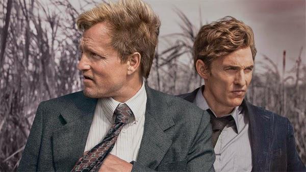 Woody Harrelson y Matthew McConaughey en True Detective