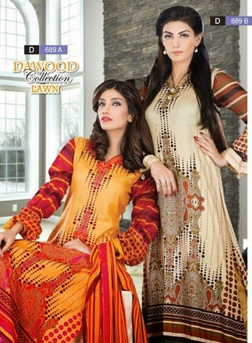 Dawood Collection Lawn 2014 Vol-5