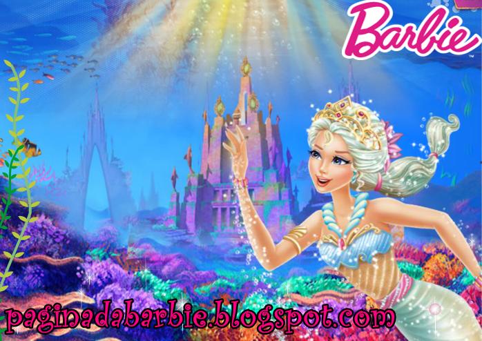 Barbie Vida De Sereia 2   Papel De Parede 2