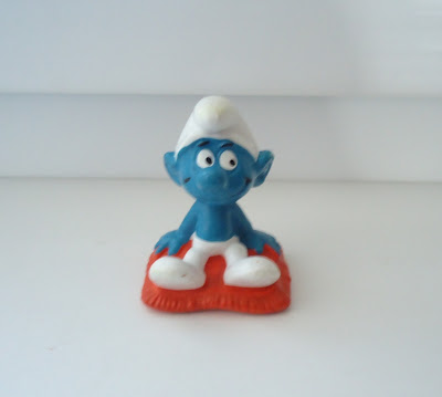 Cushion Smurf Figure W.Germany 2.0085