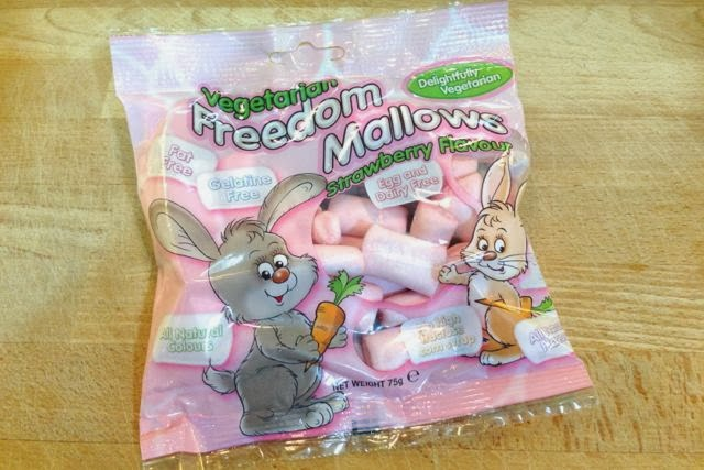 Freedom Mallows Strawberry Vegan Marshmallows