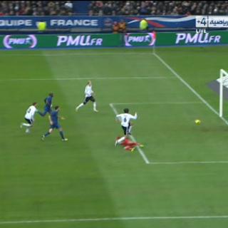 خضيرة يتقدم للماكينات الألمانية   فرنسا 1 - 2 ألمانيا   تعليق : جواد بده