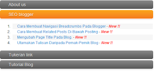 Tutorial Blogger dan SEO Blogger