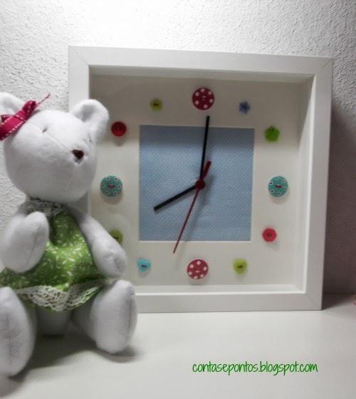 relógio handmade