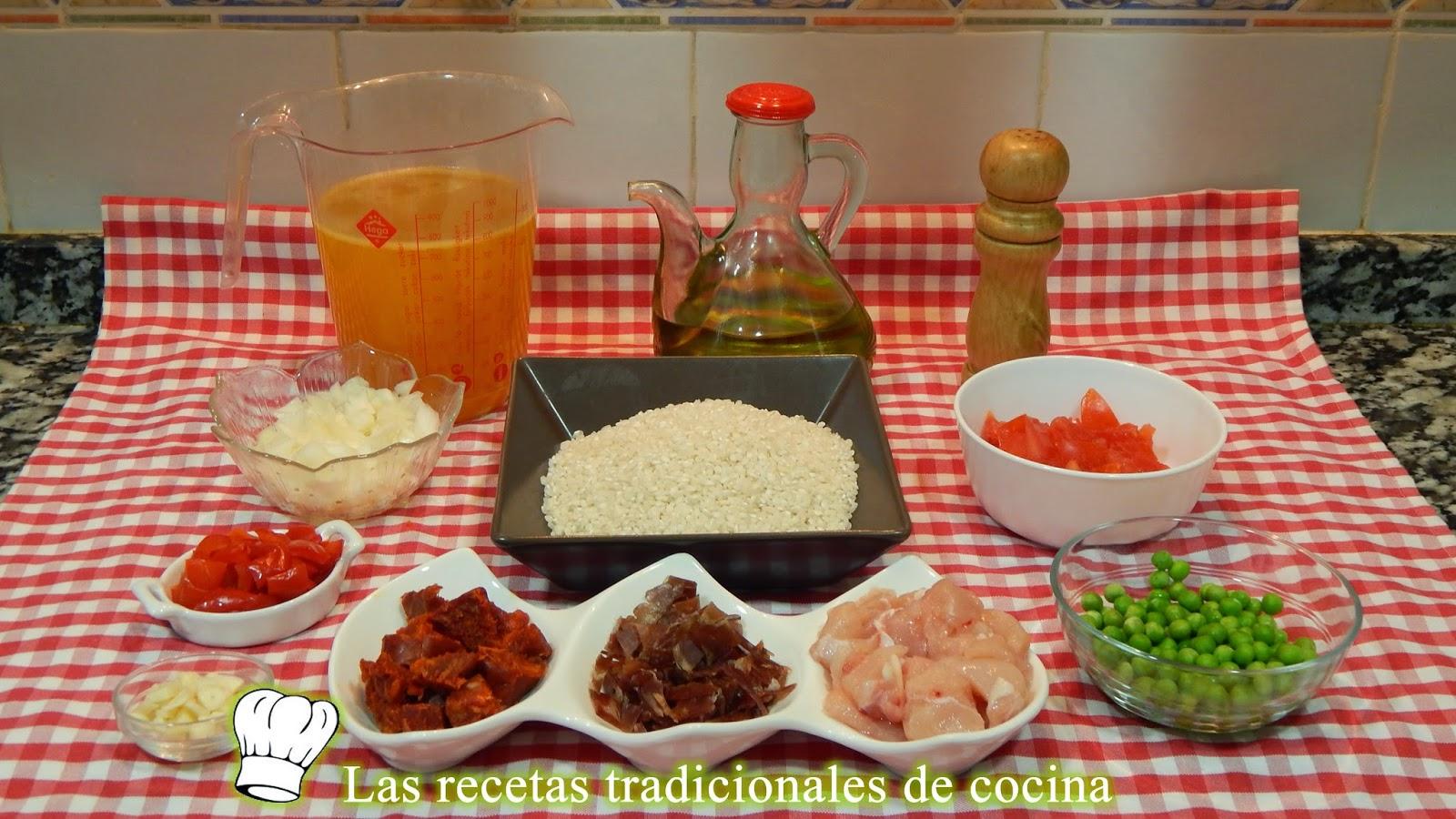 Receta de arroz a la Riojana