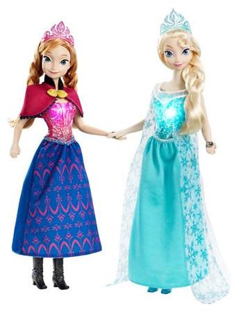 Anna & Elsa Dolls