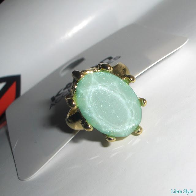 Koton accessorize yeşil taşlı yüzük, ring