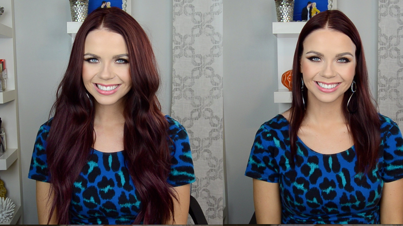 Jaymie Joy How To Laced Hair Extension Clip In Extension Tutorial