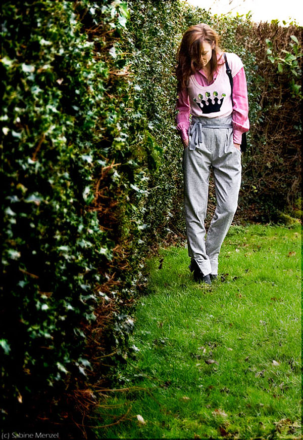 Psynopsis Tesco F&F Couture Trousers Sonia Rykiel for H&M Sweater Pringle of Scotland Silk Blouse