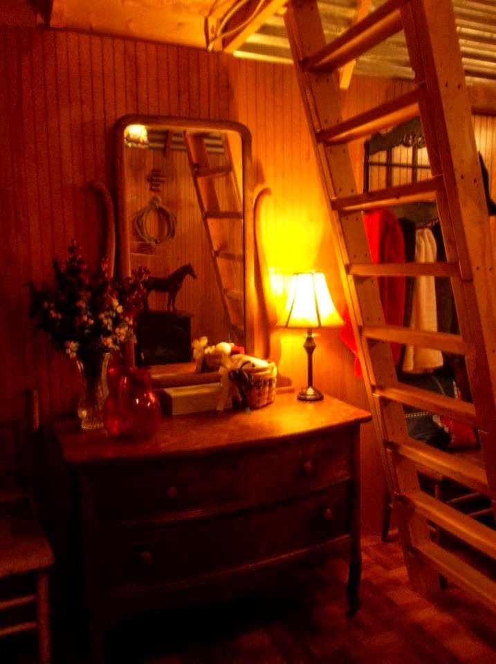 The Interior of the Cowboy Cabin