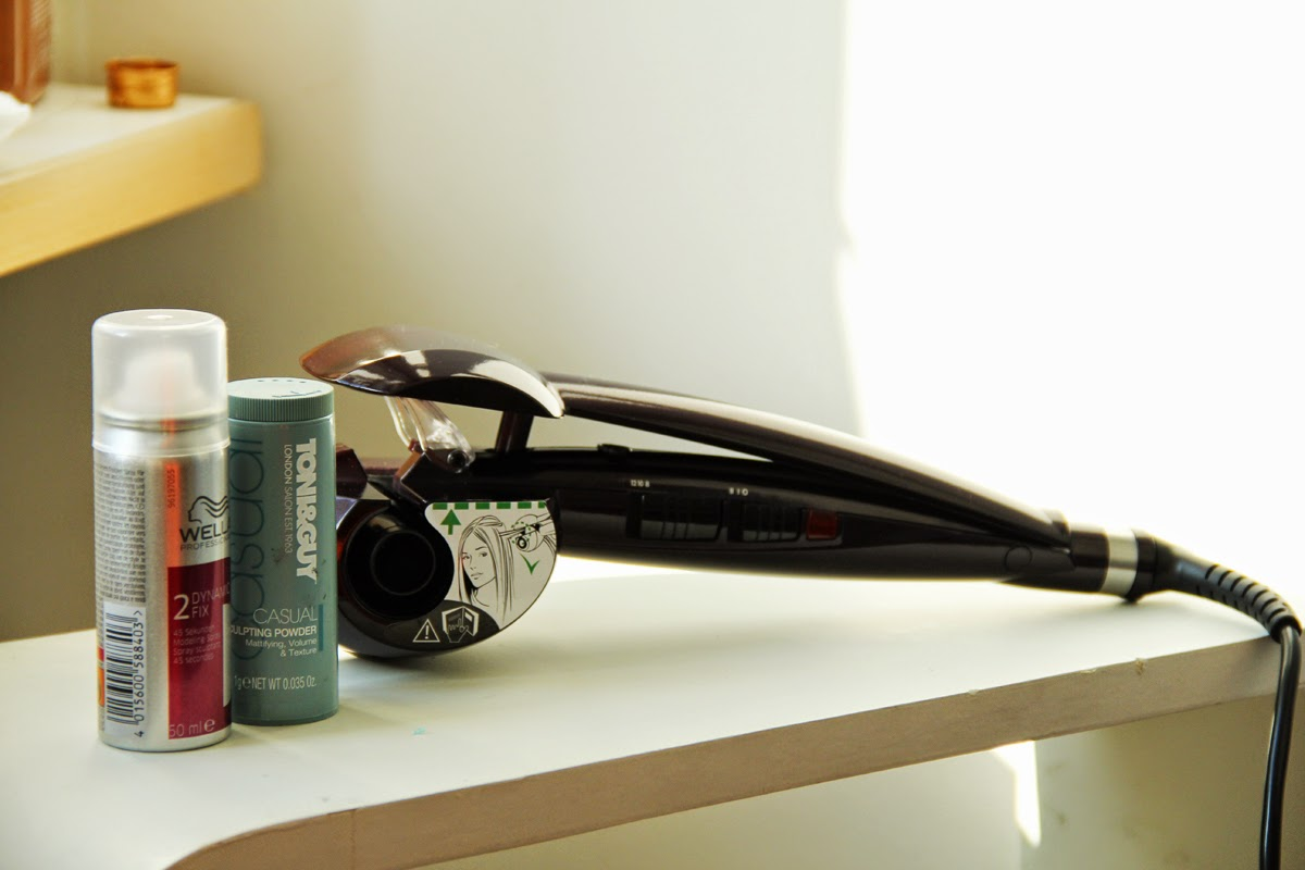 hair curl styling babyliss