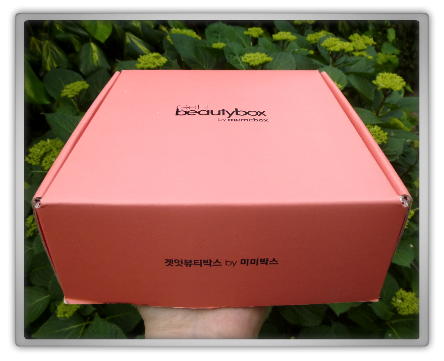 겟잇뷰티박스 by 미미박스 memebox beautybox #5 #5-2 unboxing review preview box