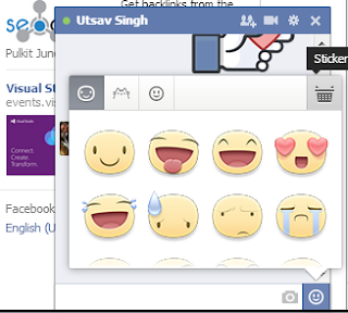 Add Stickers to Facebook