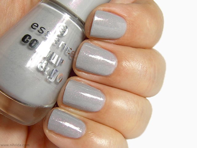Essence Colour &amp; Go Nail Polish in Grey-t To Be Here