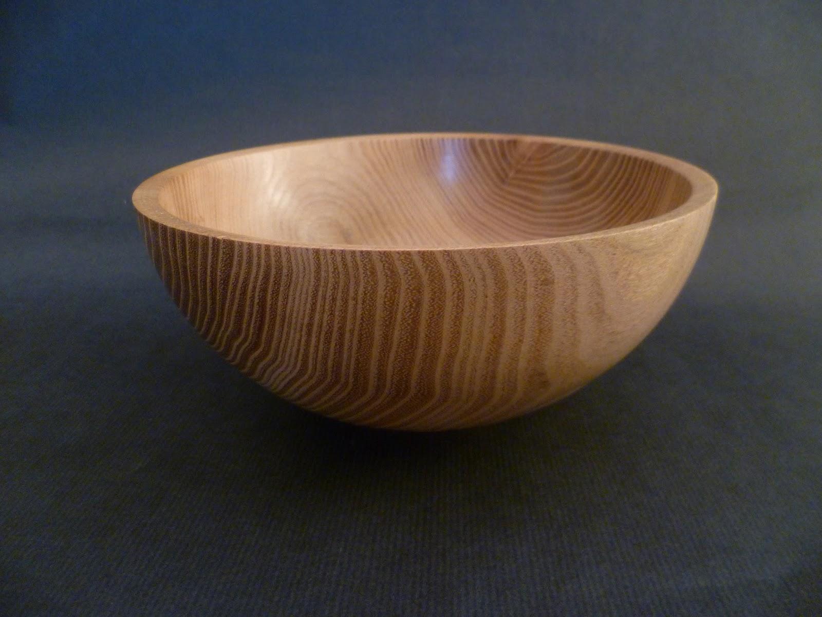 atelier du bois tourn woodturning design 2 bols en bois de robinier faux acacia. Black Bedroom Furniture Sets. Home Design Ideas