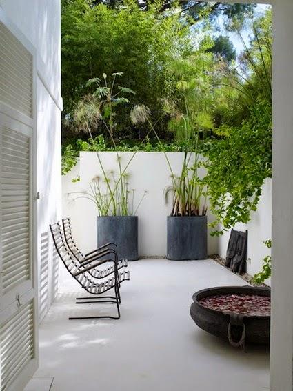Bricolage e decora o v rias ideias para terra os ou for Fotos patios pequenos