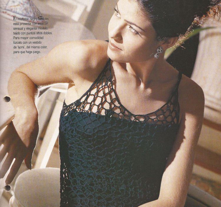 Vestido Calado a Crochet