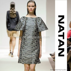 Queen Mathilde Style NATAN Dress