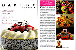 Vin's Cakes on Bakery Indonesia - December 2010