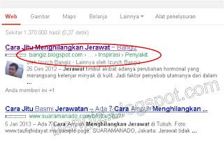 Breadcrumb terindex Google