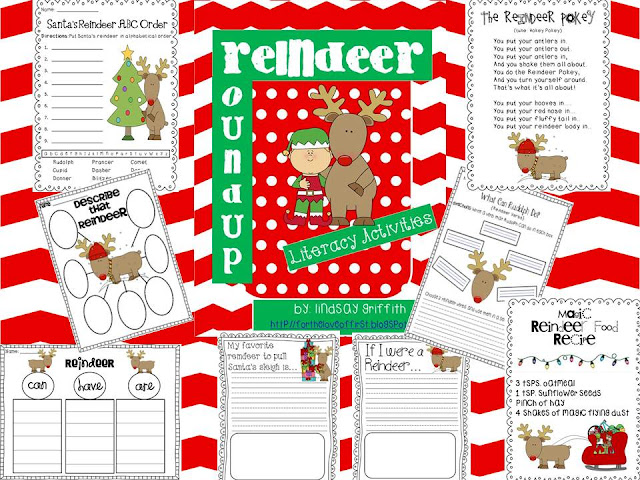 http://www.teacherspayteachers.com/Product/Reindeer-Roundup-Literacy-Unit-426029