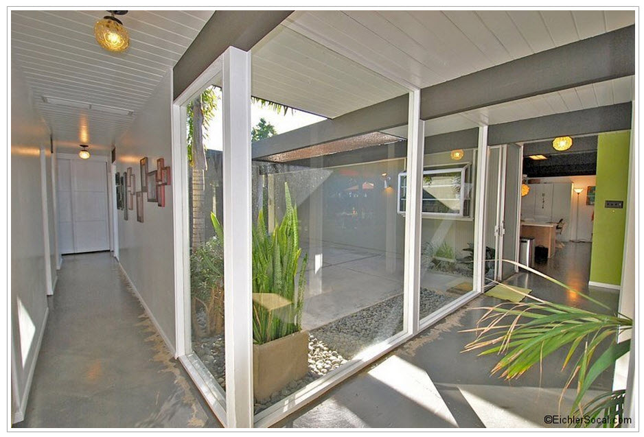 An eichler in orange mid century modern remodel for Eichler designs