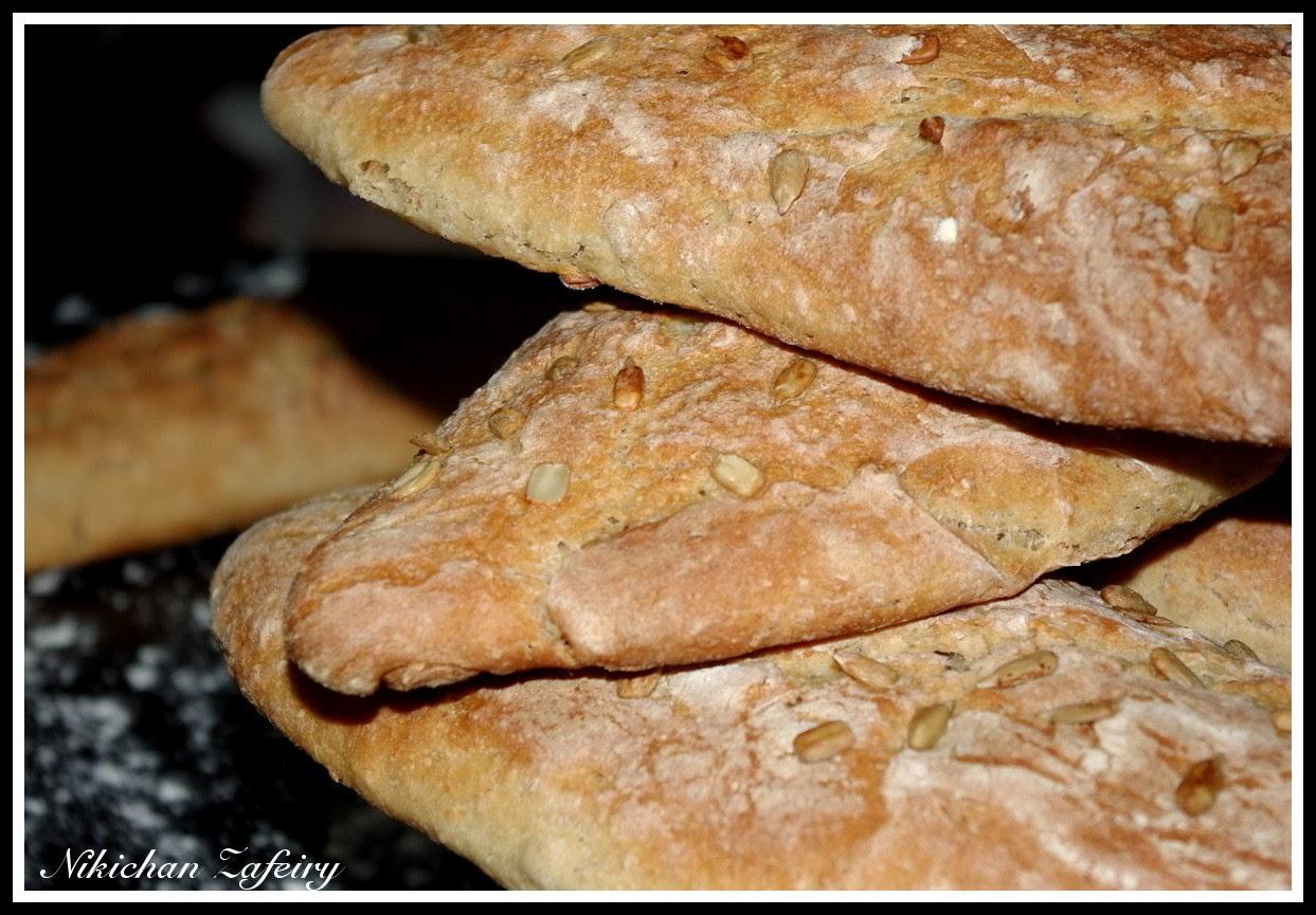 Pan de pipas con harina de avena recetas de una gatita - Cocinar harina de avena ...