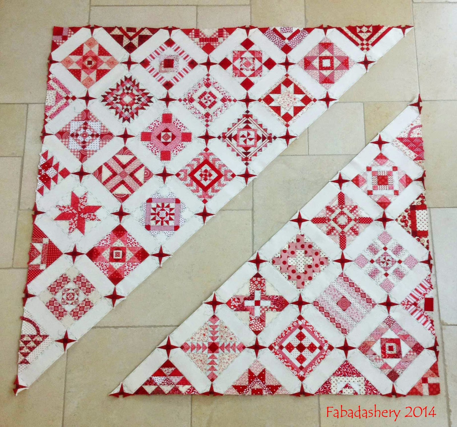 Nearly Insane Quilt Construction - September 2014