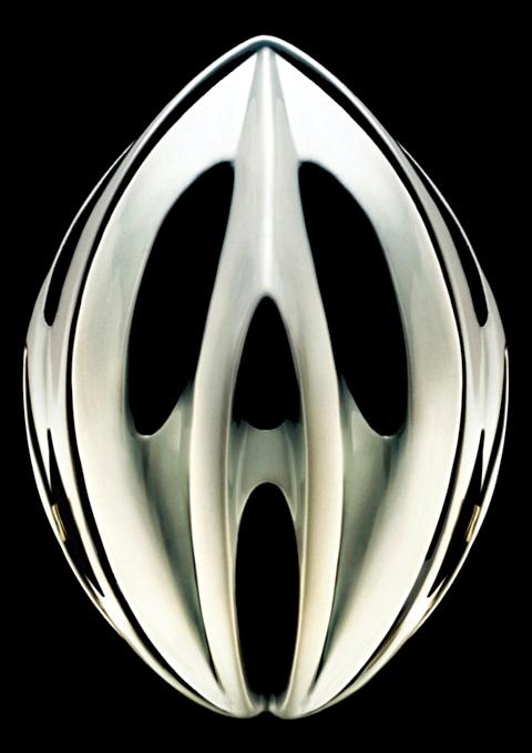 Spøgelses-ansigt cykelhjelm fra skræk-kampagne (SUVA)
