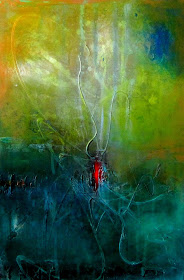"Abstract Painting ""Inspiration"" by Dora Woodrum"