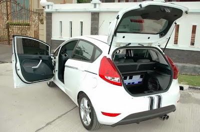 Modified Ford Fiesta S A/T 2011, Suitable for Audiophile
