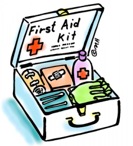 First aid in your woodworking shop