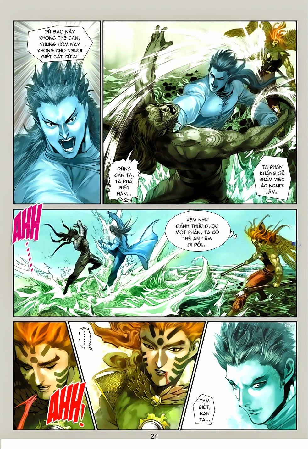 Thần Binh Tiền Truyện 4 - Huyền Thiên Tà Đế chap 13 - Trang 24