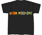 heavyweight t-shirt with vintage boards
