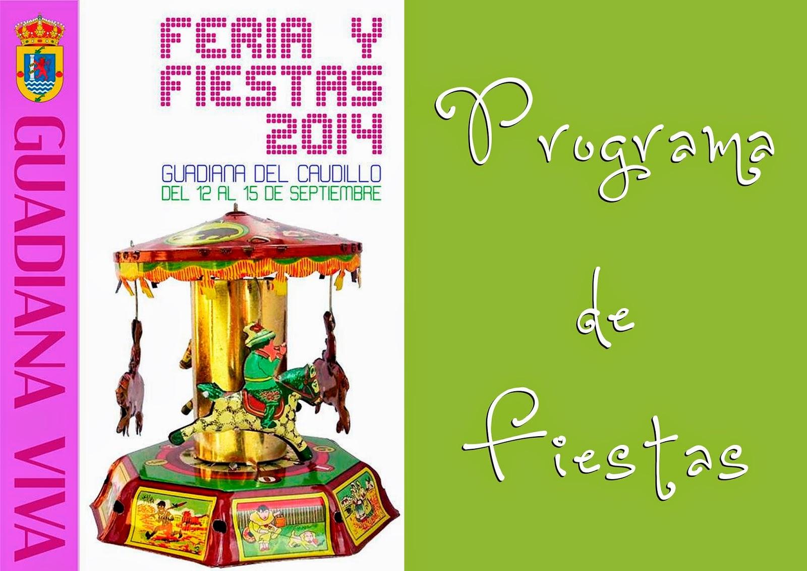 Programa Feria y Fiestas 2014