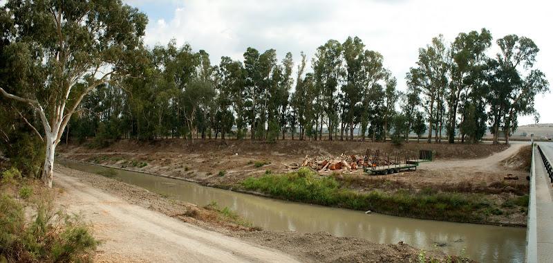 El cauce del Guadalete en La Greduela