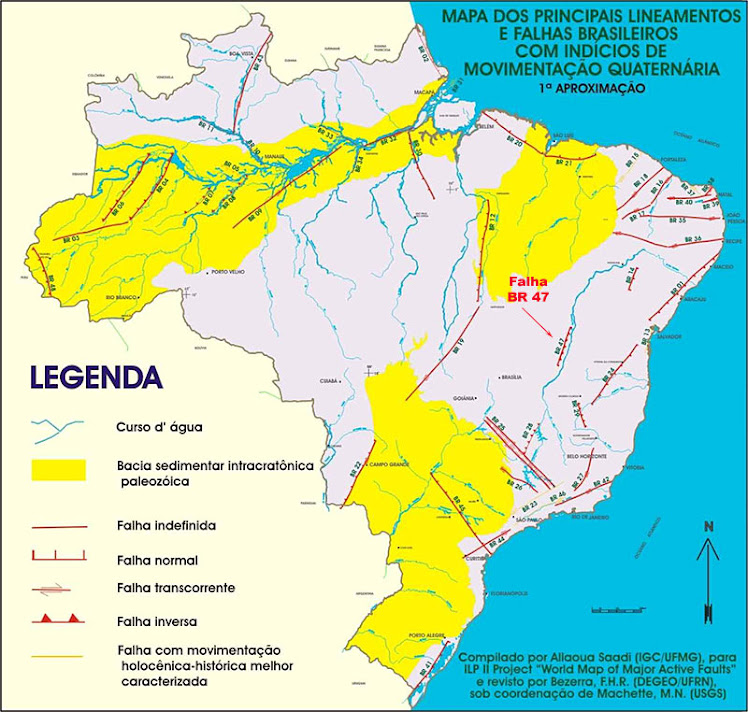 Movimento geológico brasileiro