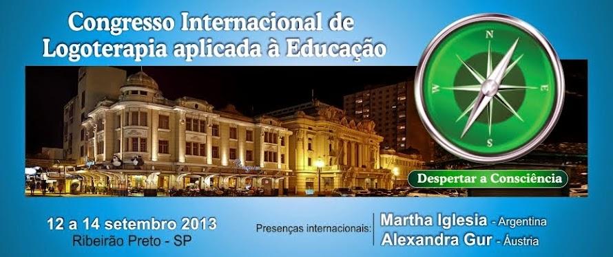 CONGRESSO INTERNACIONAL DE LOGOTERAPIA APLICADA À EDUCAÇÃO