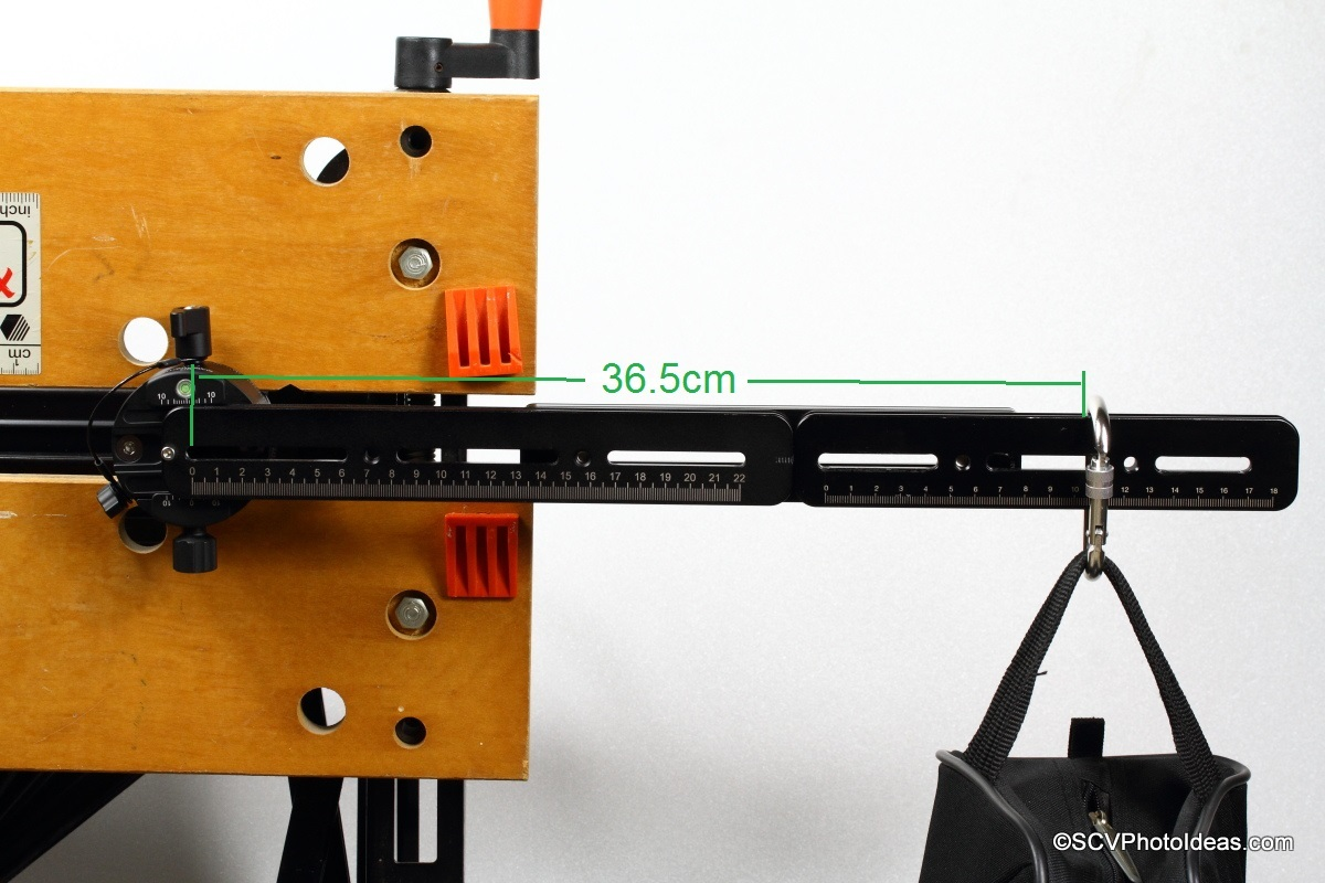 Sunwayfoto DDP-64SI with long rail and counter weight