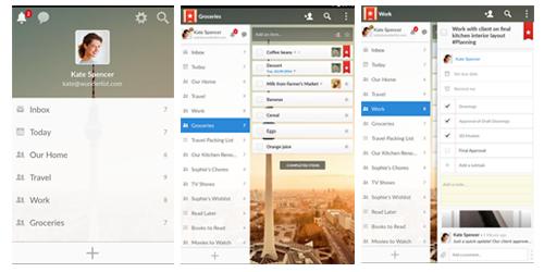 Screenshot - Wunderlist: To-Do List & Tasks - Aplikasi pengingat di android