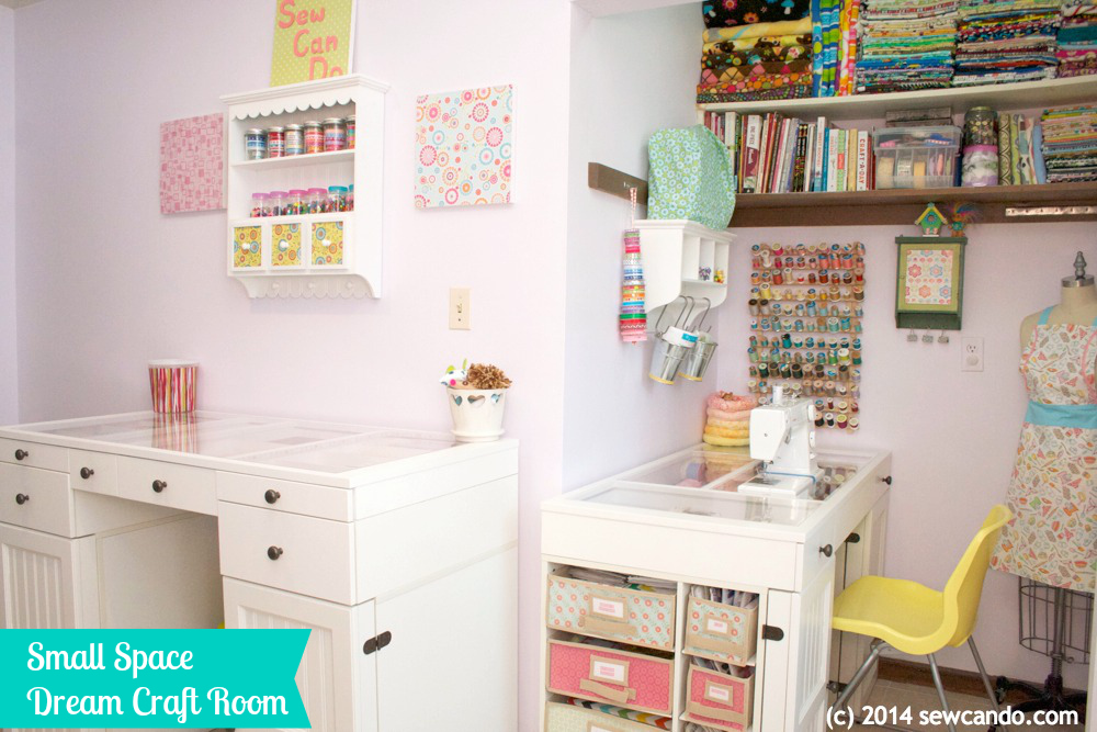 Craft Room Small Space 1000 x 667