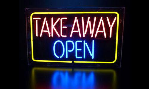 takeaway open