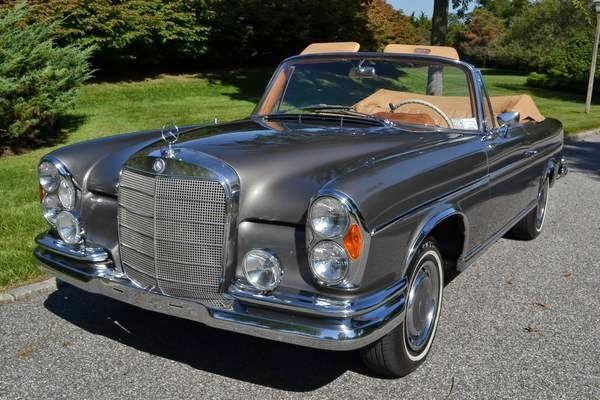 1965 Mercedes-Benz 300SE Convertible | Auto Restorationice