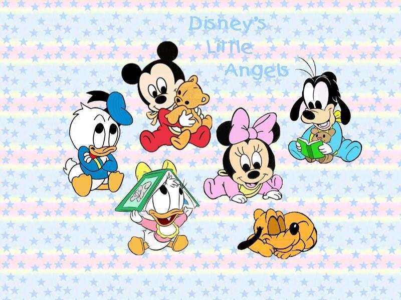 dibujos de disney babies: