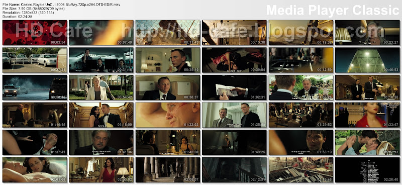 Casino Royale 2006 video thumbnails