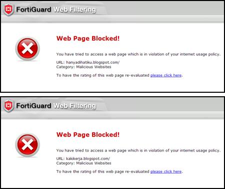 malicious, website, blocked