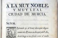 Título: Al buen genio encomienda sus Discursos históricos de la muy noble y leal ciudad de Murcia...Francisco Cascales. Autor: Cascales, Francisco.